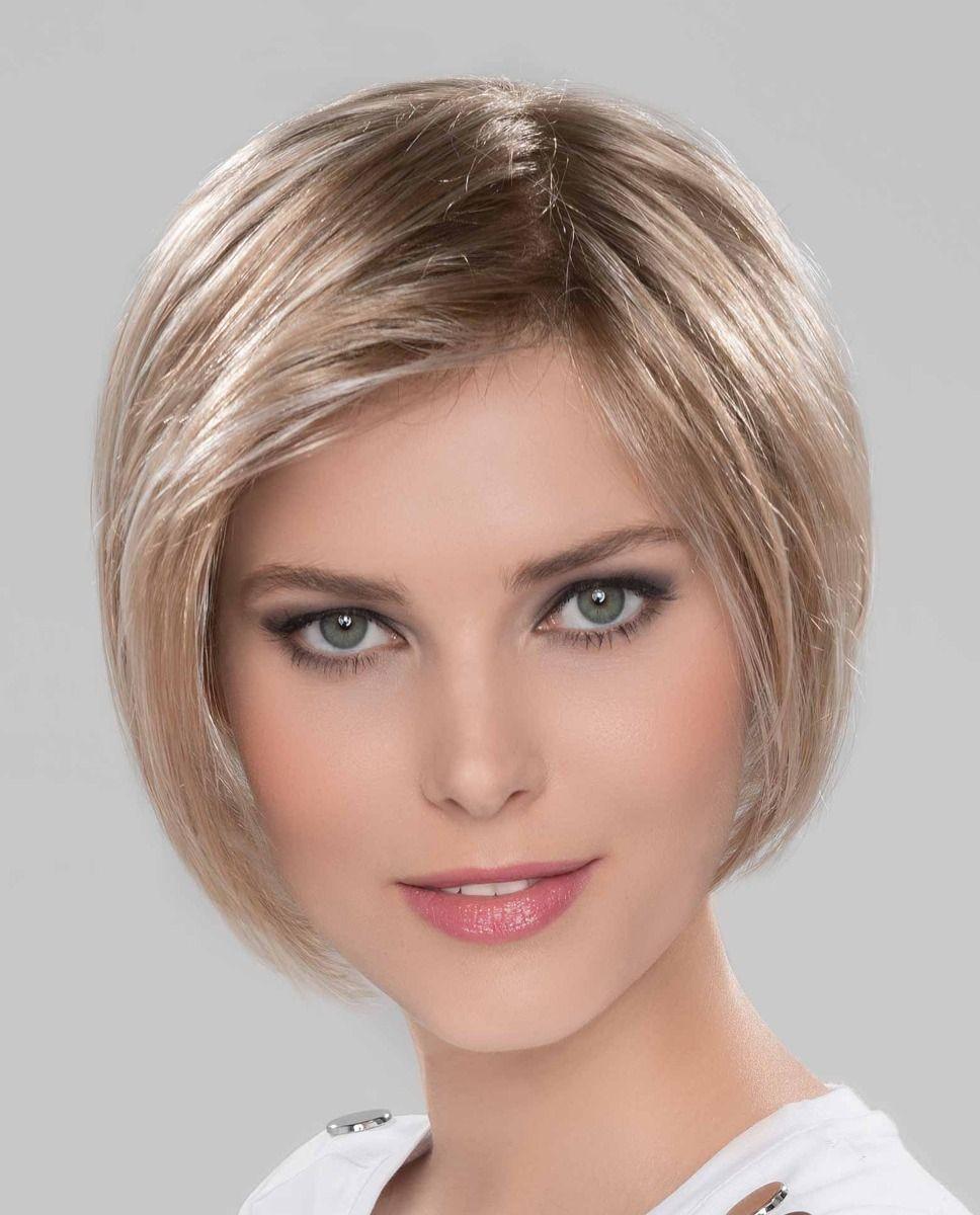 Perruques médicalisées mi-long cheveux blond