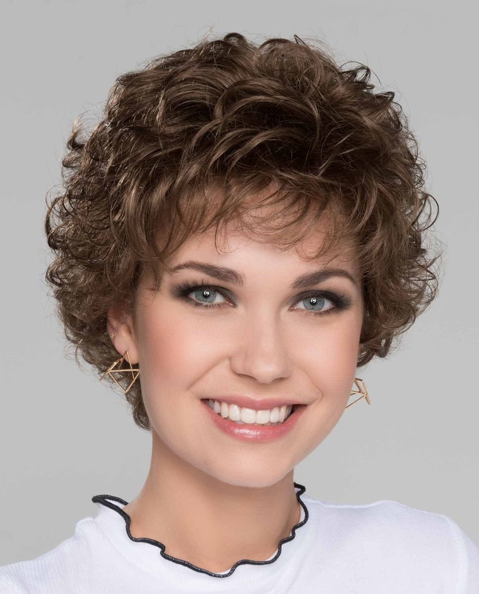 Perruque médicalisée  cheveux court -chatain