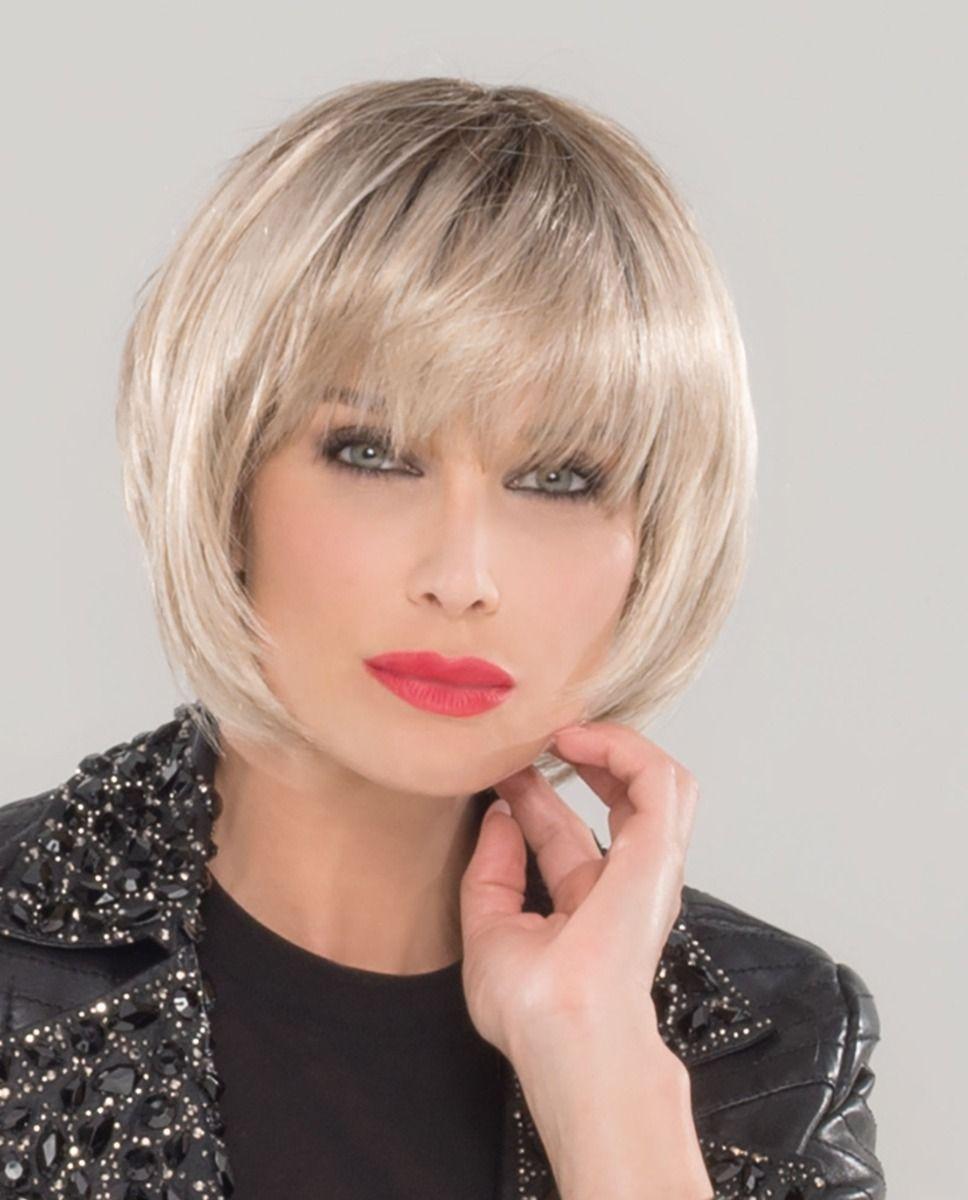 Perruque médicalisée cheveux mi-long blonde