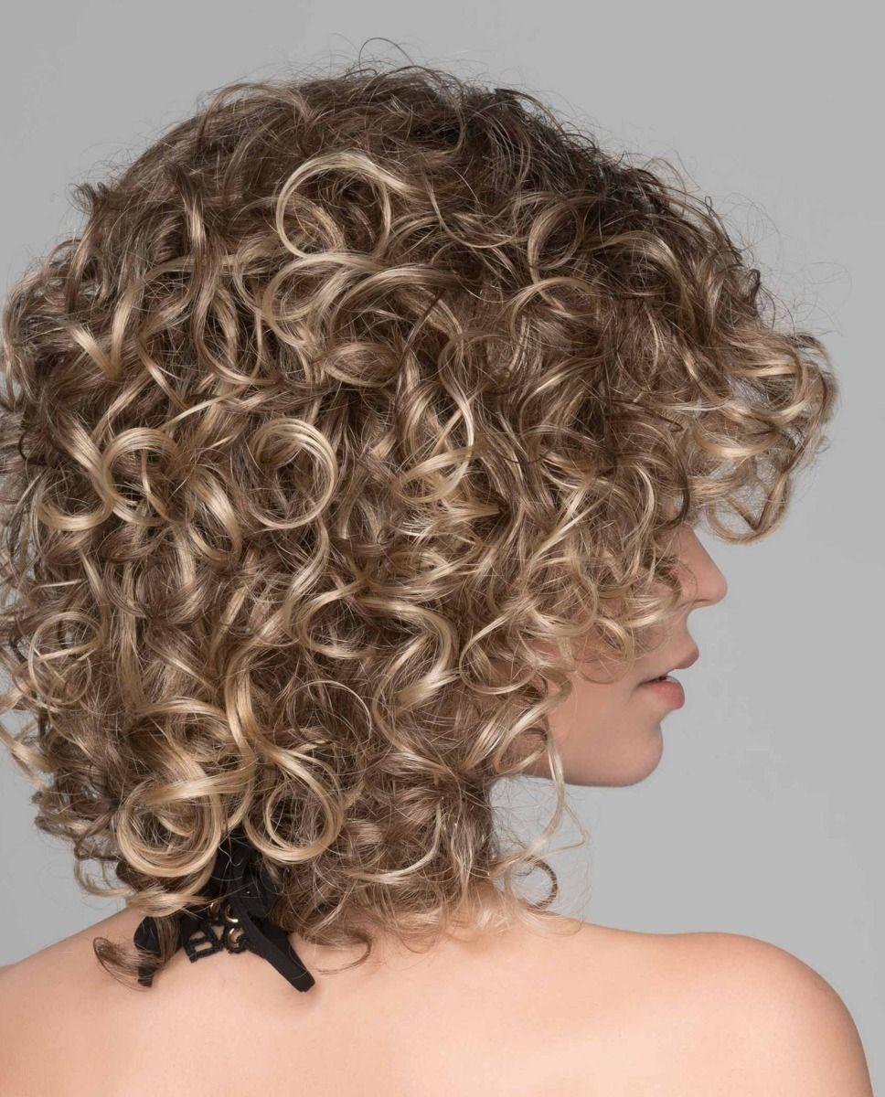 Perruques médicalisées cheveux frisés