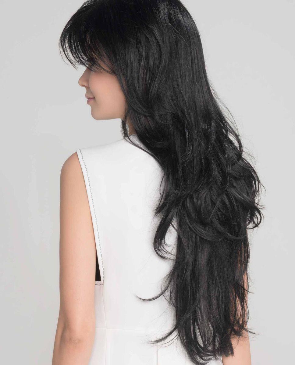 Perruque médicalisée cheveux très long