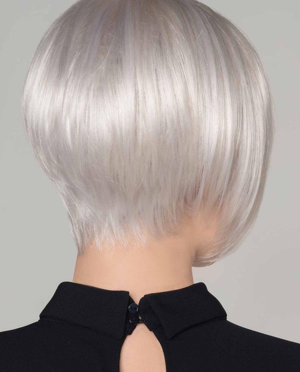 Perruque médicalisée cheveux carré plongeant