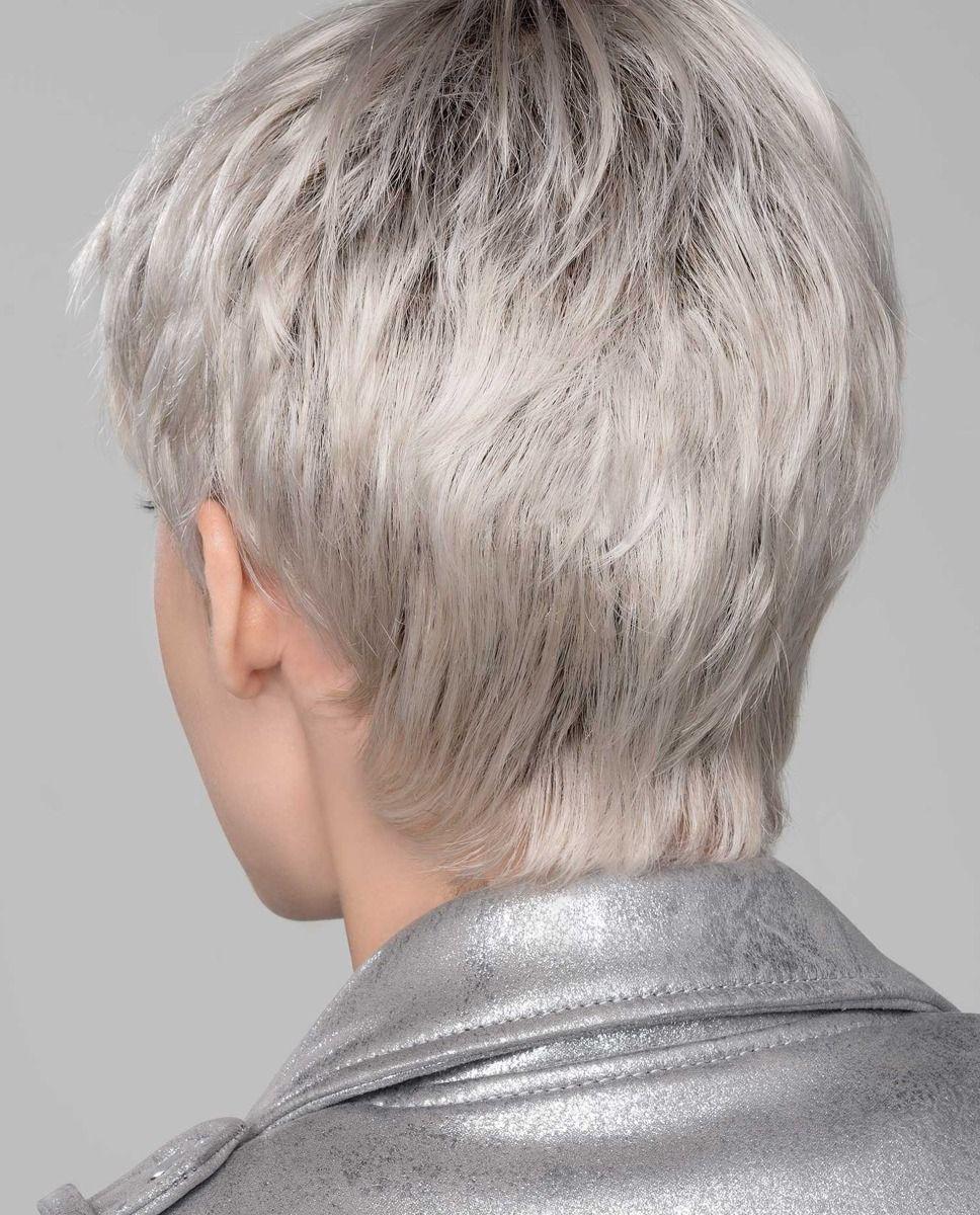 Perruque médicalisée cheveux coupe garçonne