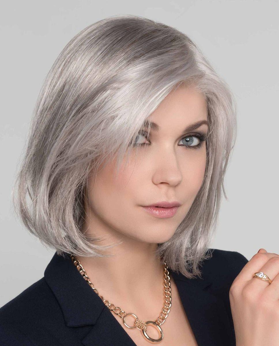 Perruque médicalisée cheveux coupe mi-longue lisse