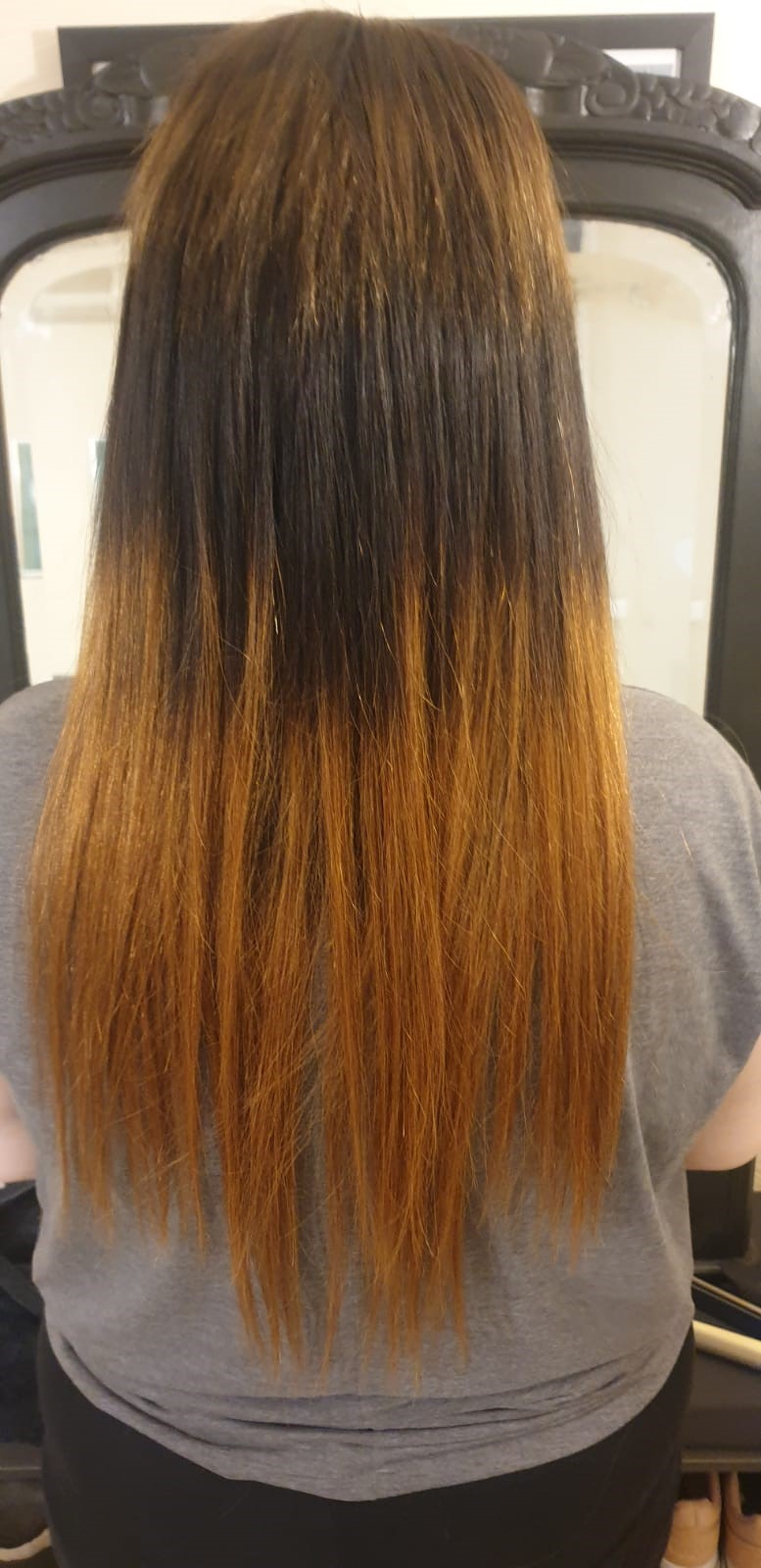 Avant/ Après Extensions de cheveux